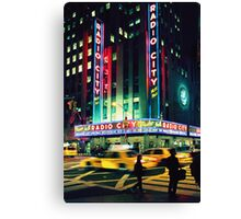 August - Calendar New York Canvas Print
