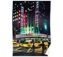 August - Calendar New York Poster