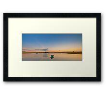 Sunset 002 Framed Print