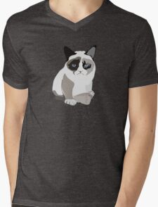 Grumpy cat Mens V-Neck T-Shirt