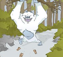 Creature Feature - The Yeti by TheWhaleBaby