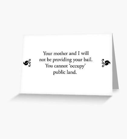 Boomer Cards - Bail Greeting Card