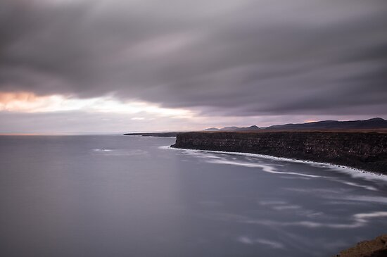 the big cliff by JorunnSjofn Gudlaugsdottir