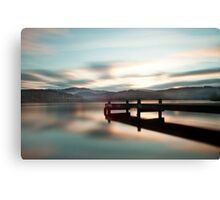 Loch Ard From Jetty  Canvas Print