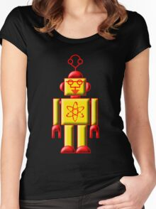 Atomic Robot Women's Fitted Scoop T-Shirt