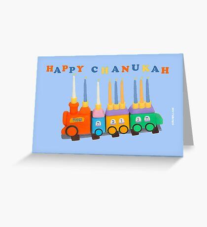 Chanukiyah Greeting Card Greeting Card