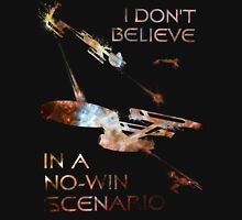 Star Trek No-Win Scenario Paint Splatter Unisex T-Shirt
