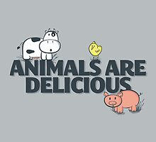 Animals Are Delicious by fishbiscuit