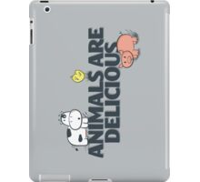 Animals Are Delicious iPad Case/Skin