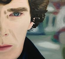 sherlock - oil by cocosuspenders