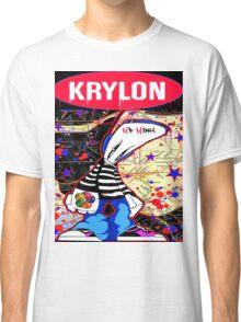 New York City Subaway Graffit Art Map Krylon Classic T-Shirt