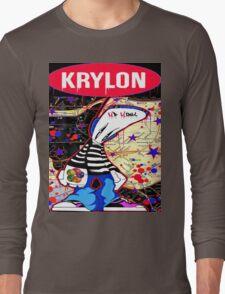 New York City Subaway Graffit Art Map Krylon Long Sleeve T-Shirt