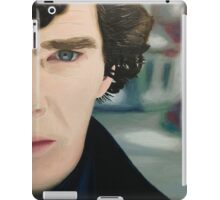 sherlock - oil iPad Case/Skin
