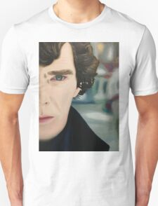 sherlock - oil T-Shirt