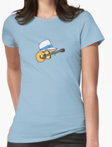Fedora Crooner Womens Fitted T-Shirt