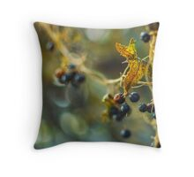 When The Night. Throw Pillow