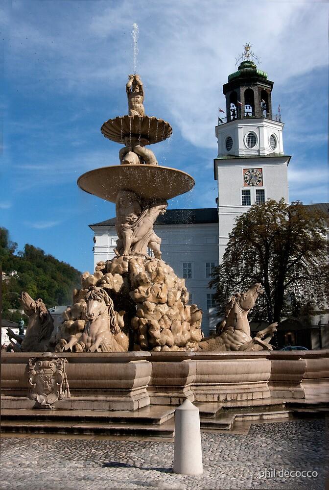 Salzburg Square by phil decocco