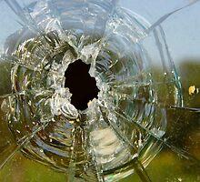 Bullet Hole by WildestArt