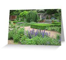 Botanic Gardens-English Walled Garden Greeting Card