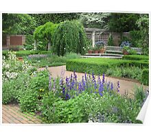 Botanic Gardens-English Walled Garden Poster