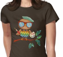 Little Wise Artist Womens Fitted T-Shirt