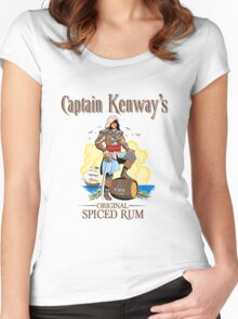 Captain Kenway's original rum Women's Fitted Scoop T-Shirt