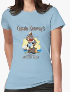 Captain Kenway's original rum Womens Fitted T-Shirt
