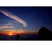 CANON BEACH SUNSET~ Photographic Print