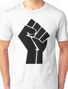 Raised Fist / Black Power Symbol Unisex T-Shirt