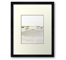 Snow Dune Framed Print