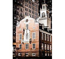 Old State House, Boston, Massachusetts Photographic Print