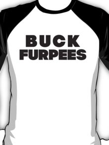 Buck Furpees (Black) T-Shirt