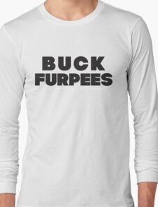 Buck Furpees (Black) Long Sleeve T-Shirt