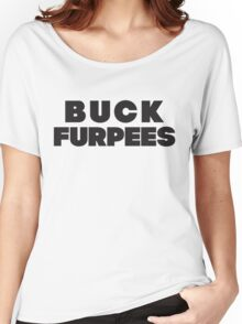 Buck Furpees (Black) Women's Relaxed Fit T-Shirt