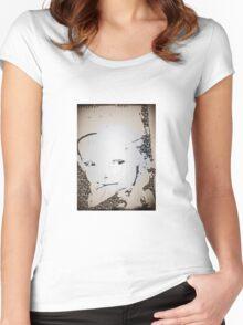 akhdan jabulani Women's Fitted Scoop T-Shirt