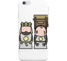 King Arthur and Patsy. iPhone Case/Skin