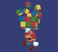 Super rubiks bros. by coinbox tees