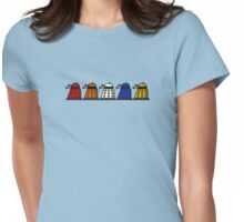 Paradigm Daleks  Womens Fitted T-Shirt