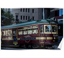 The City Circle Tram Poster