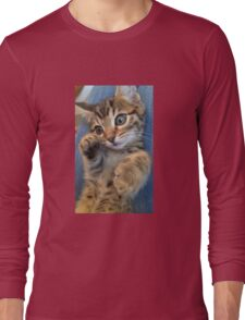 Bengal kitty  Long Sleeve T-Shirt