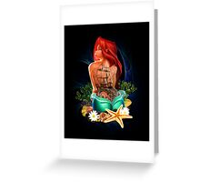 Lady Mermaid - Inked Greeting Card