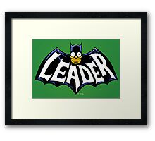 I Love the Leader! Framed Print