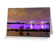 HDR Gateway Bridge Greeting Card