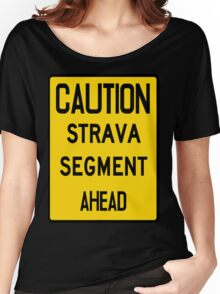 Strava segment Women's Relaxed Fit T-Shirt