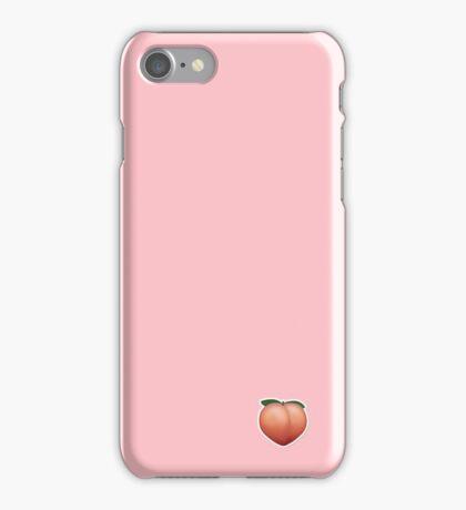 Peach emoji iPhone Case/Skin