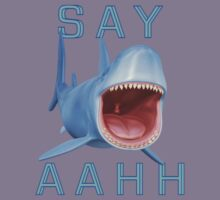 Say Aahh .. a sharks tale Kids Clothes