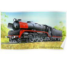 VicRail 4-6-4 R Class Hudson (R701) Poster