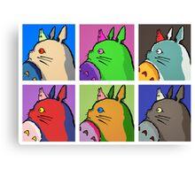 My Neighbor Totoro - Pop Canvas Print