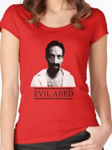 Community - Evil Abed Women's Fitted Scoop T-Shirt