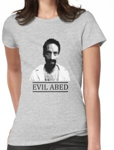 Community - Evil Abed Womens Fitted T-Shirt